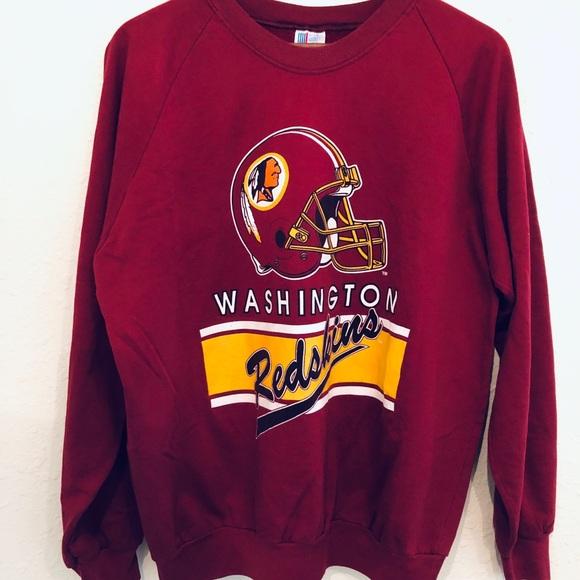 60d4a110 Vintage Washington Redskins Crewneck Sweatshirt
